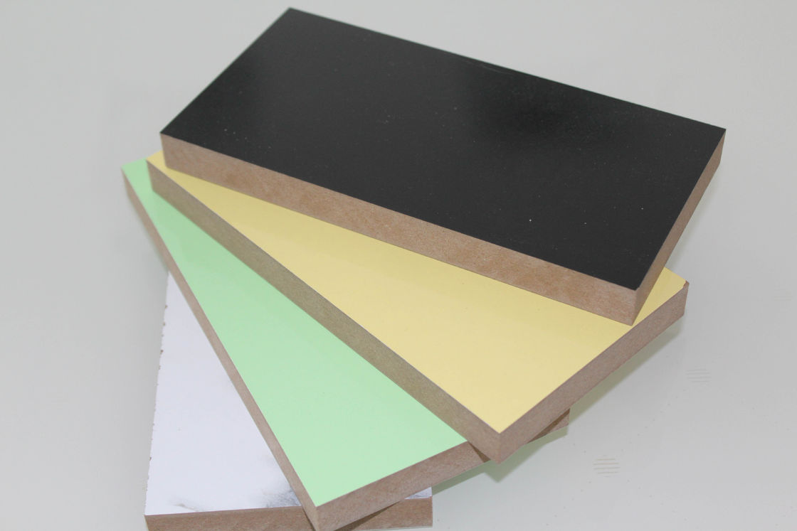High Density Fiber Laminated MDF Board With Double Sides Sublimation Non Dust Workspace