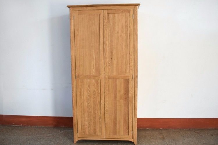 Environmental Friendly Particle Board Wardrobe With Cloth Hanging Pipe Customized
