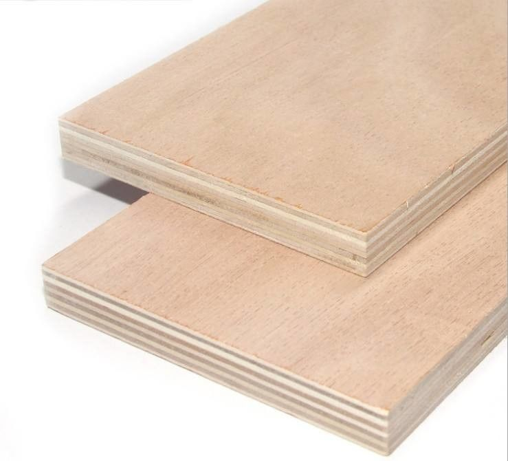 High Grading Commercial Grade Plywood With Poplar Birch Pine Hardwood Combi Cores