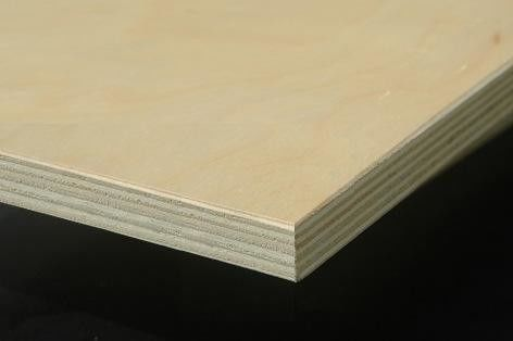 High Strength Exterior Grade Plywood / Water Resistant Marine Plywood Flooring