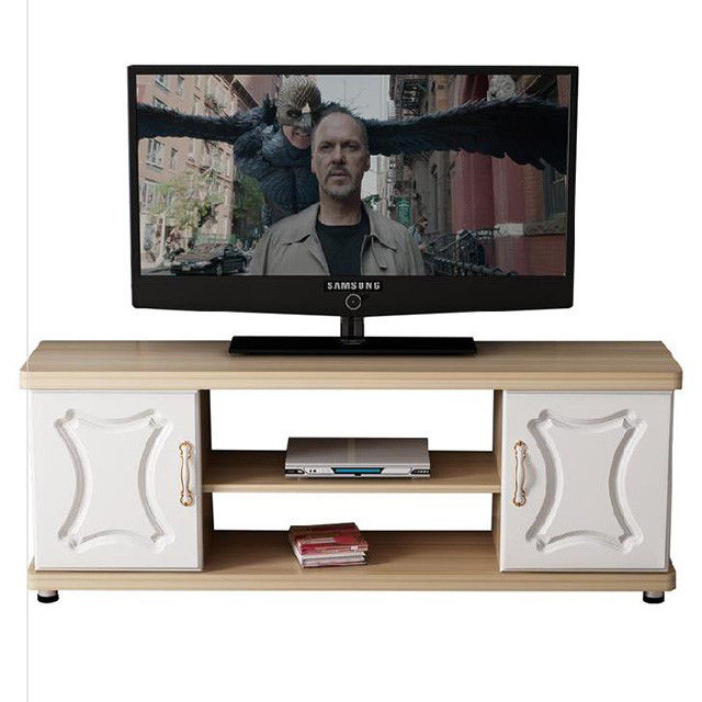 Home Living Room Furniture Modern Particle Board TV Stand Environmental Friendly