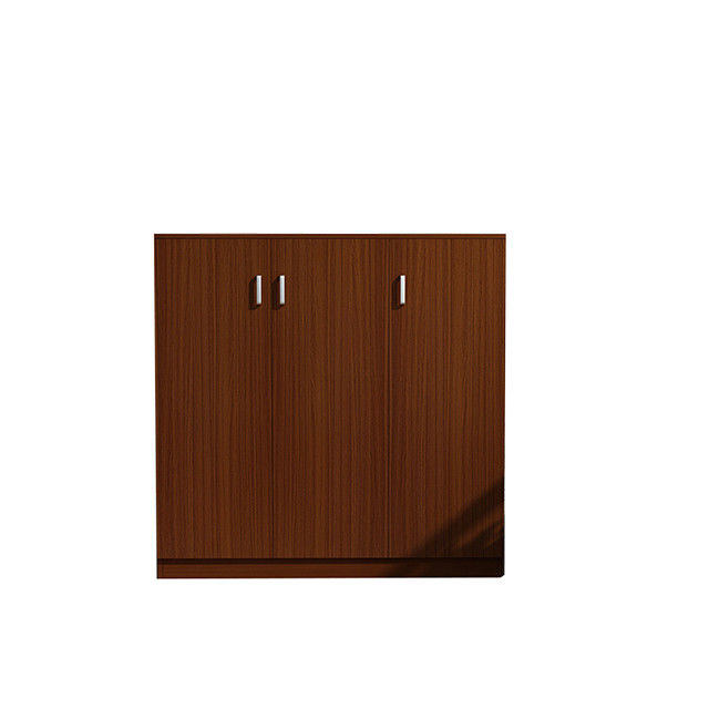 Ultra Strong Load Bearing Melamine Solid Wood Shoe Cabinet For Long Life